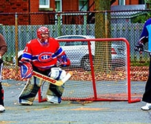 Streethockey Tor