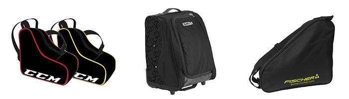 Schlittschuhtasche und Inliner Rucksack