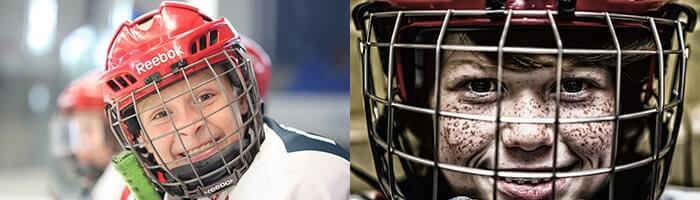 Kinder Eishockey Helm kaufen