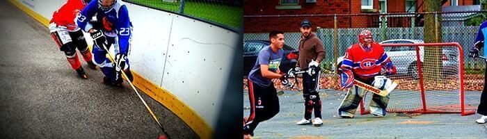 Inline Hockey Schläger für Kinder und Herren