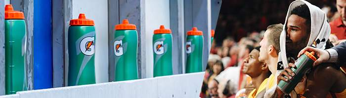 Gatorade Equipment und Merch