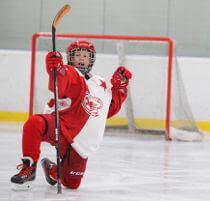 Junior Eishockey Schlittschuhe in der richtigen Größe kaufen